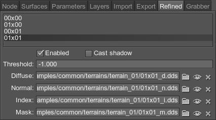 Terrain Material - Documentation - Unigine Developer