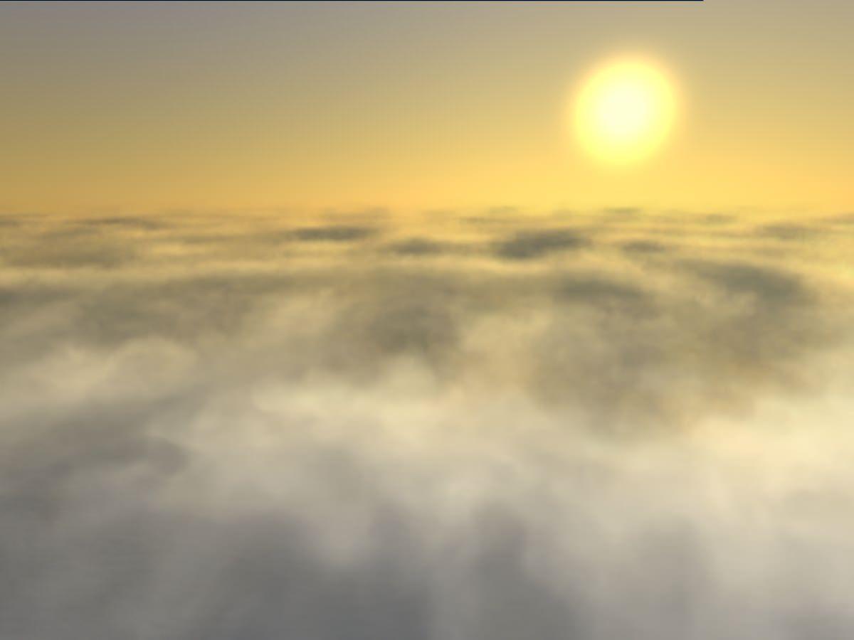 Improved volumetric clouds - Unigine Developer