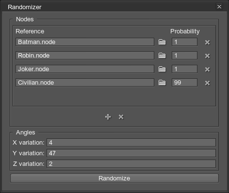 Randomizer Plugin