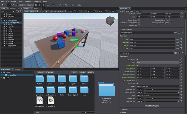 UNIGINE 2 7: New Voxel GI Solution, Synthetic Terrain