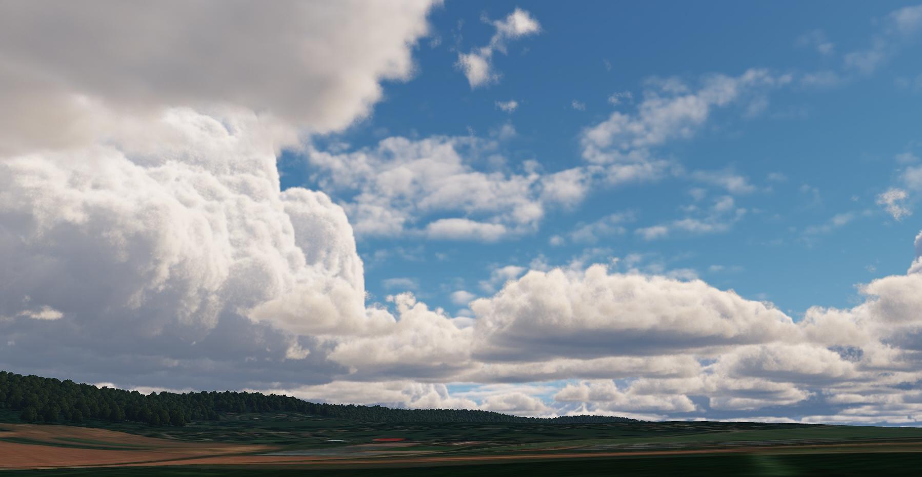 clouds wip 1 - 现代游戏开发实时3D引擎Unigine 2.12 RELEASED