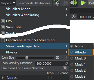 show landscape data - 现代游戏开发实时3D引擎Unigine 2.12 RELEASED