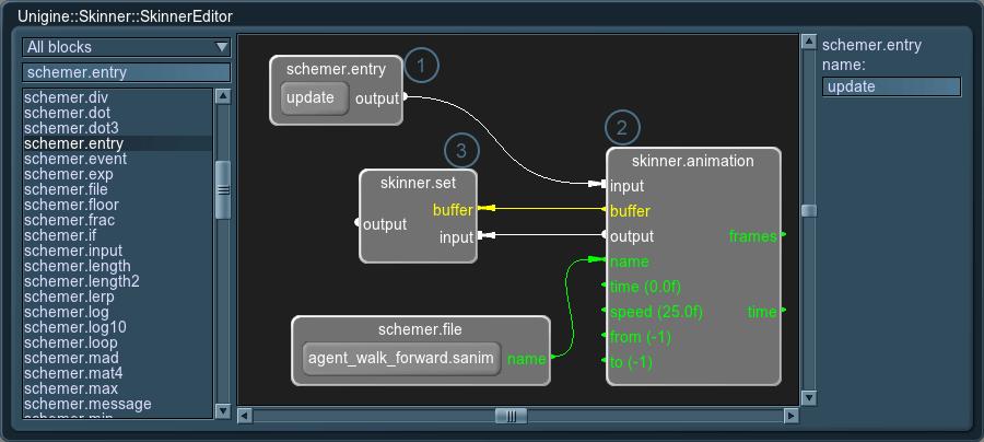 Unigine::Skinner - Documentation - Unigine Developer