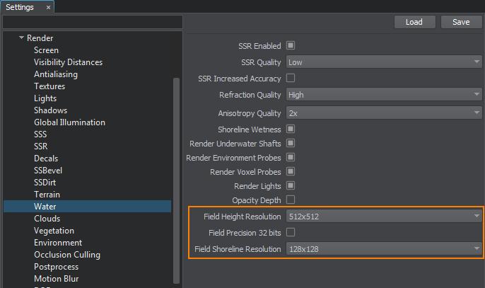 Water Optimization - Documentation - Unigine Developer